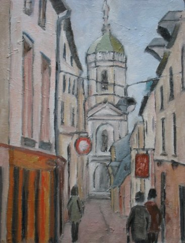 Georges Duval - Rue St Melaine
