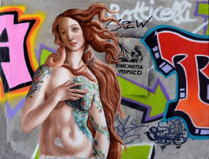 Galerie Art Jingle - Sylvain Lang - Botticelli Crew
