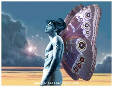 Isabelle Morello - The wings of the transformation.