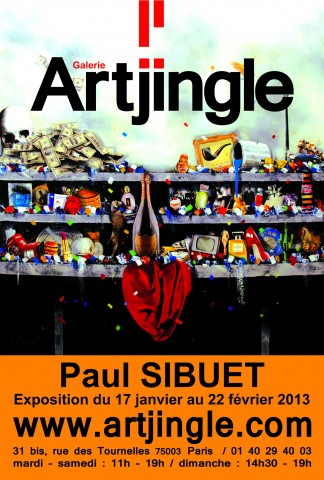 Art Jingle - Exposition Paul SIBUET