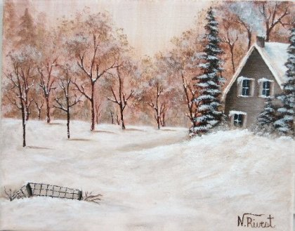 Nancy Rivest - Froide hiver