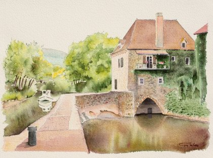Guy Le Coz - The Mill Lock