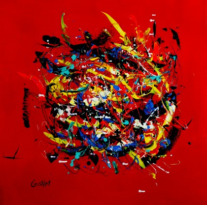 Michel Gallot - space rouge