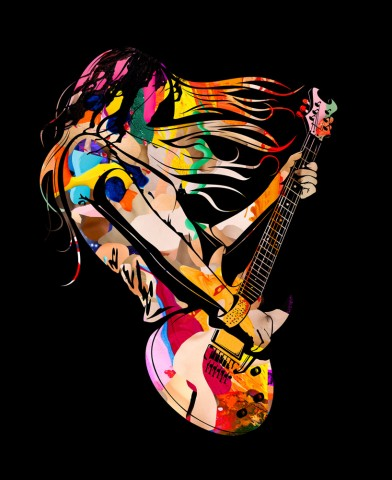 Galerie Art Jingle - Guitar Hero