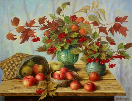 Zrazhevsky Arkady - Gifts of an autumn garden