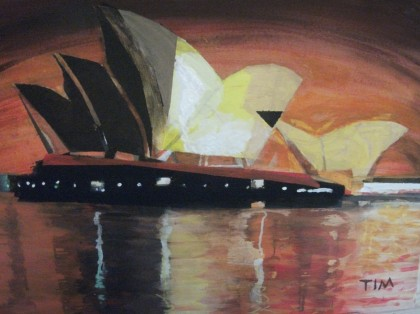 Timothée Giovanini - Opéra de Sydney by night