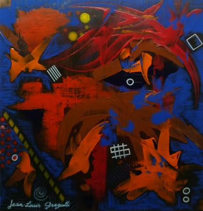 Jean-Louis Graziutti - #Abstract190121