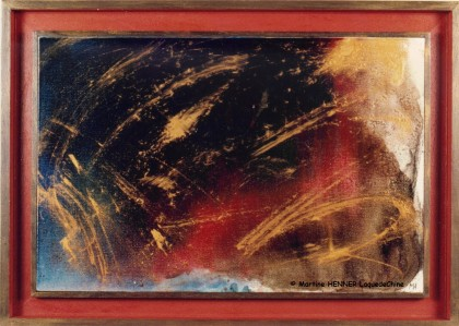 Laquedechine - Chinese lacquer on canvas - Transmutation