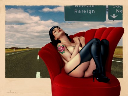 Udo Linke - The Highway Pin-Up