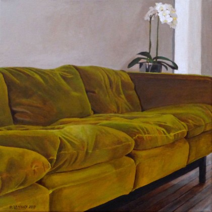 Patrice Lannoy - Intérieur N°56 The Green Sofa