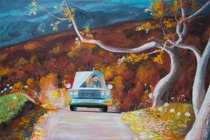 Arina Tcherem - Taxi in the Alps