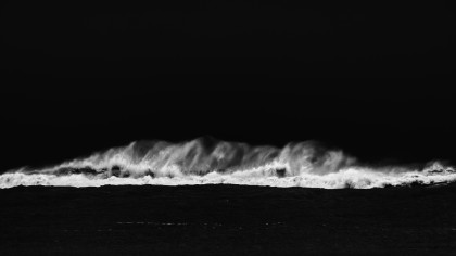 Jorg Becker - WAVE IN BLACK AND WHITE