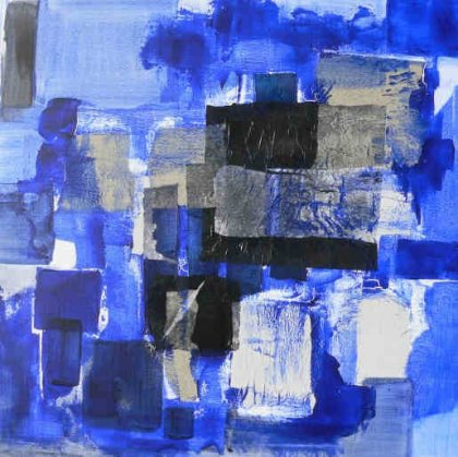Dominique Johansen - Be blue n°2